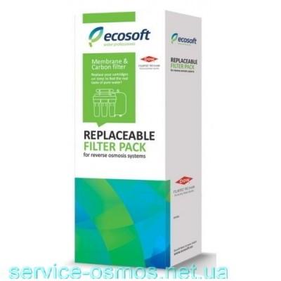 Мембрана и посткарбон 4-5 Ecosoft CSVRO75ECO для систем обратного осмоса
